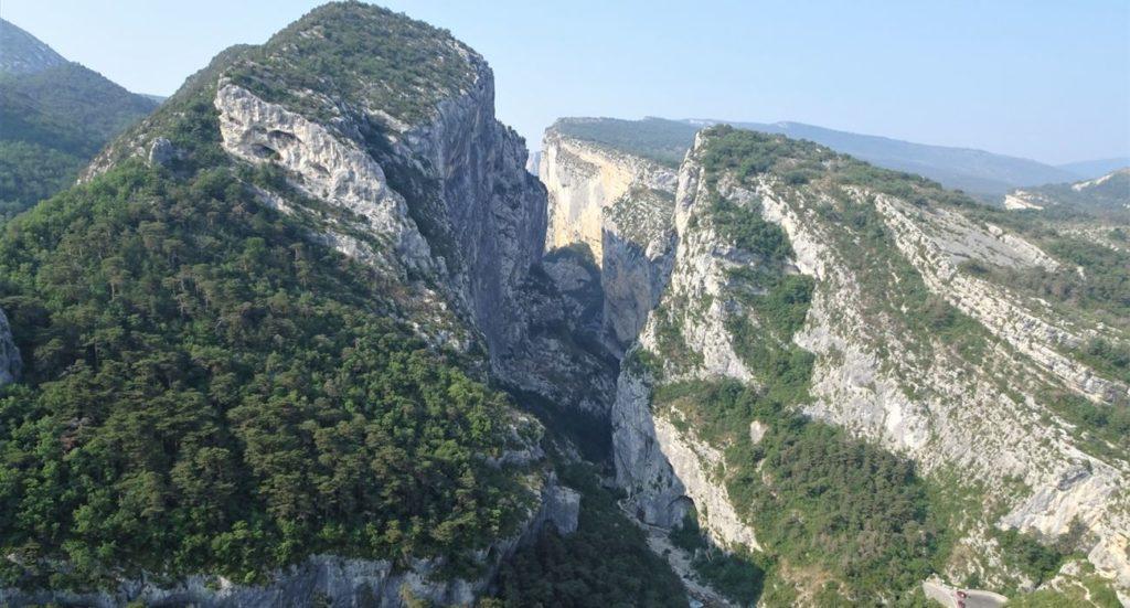 Vu de haut du sentier point sublime
