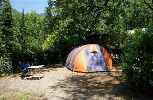 tente de campings en été