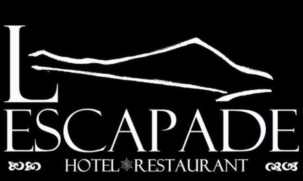 logo du restaurant hôtel l'escapade