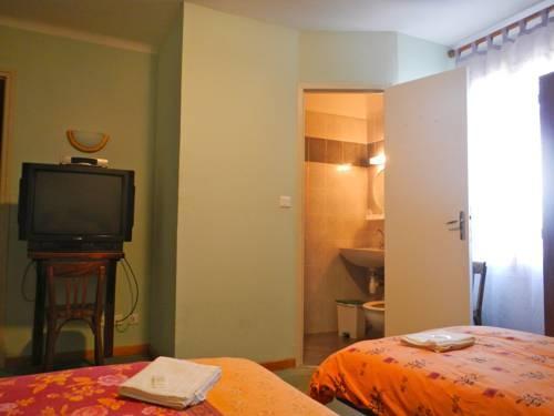chambre de l'hôtel les chaudrons