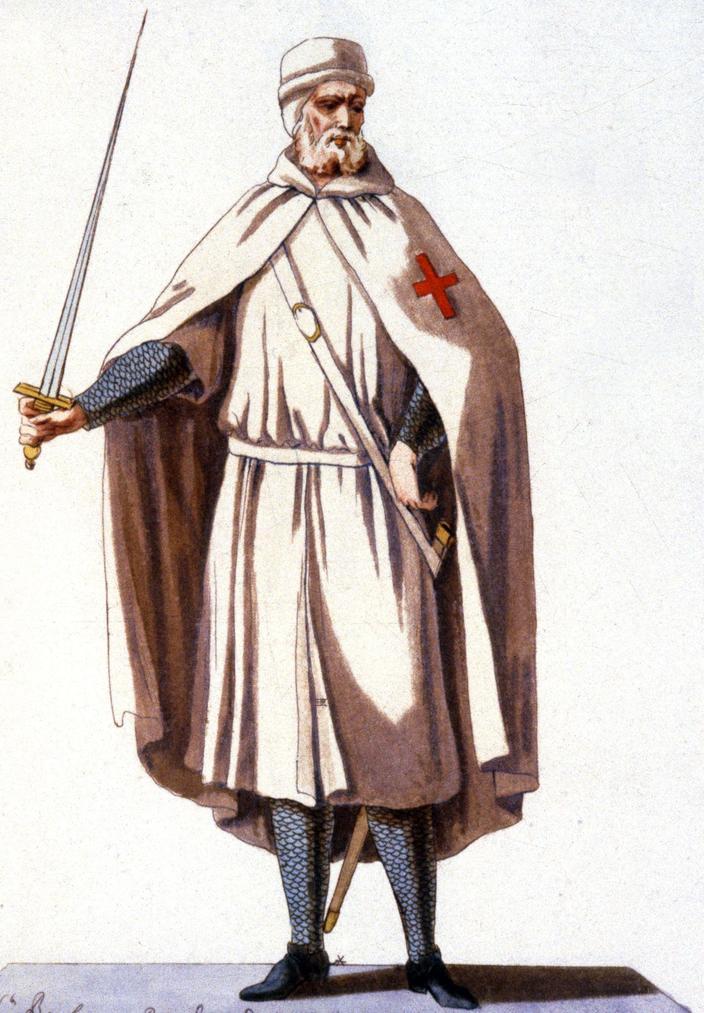 Templier durant la guerre