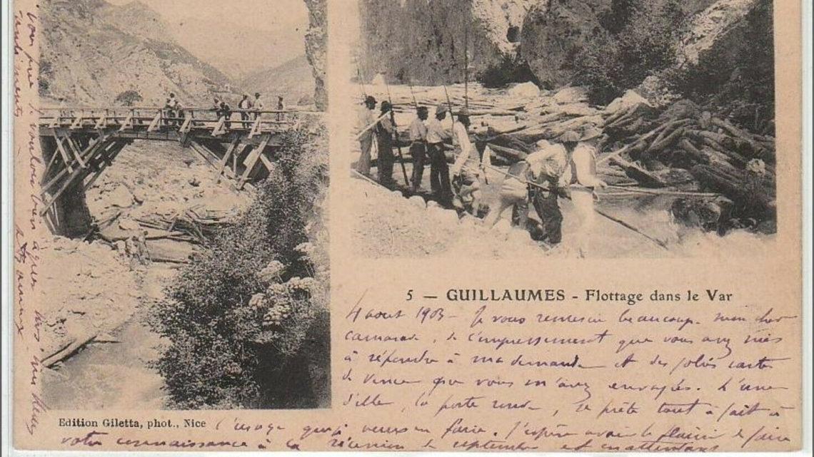 GUILLAUMES : flottage dans le Var – très bon état