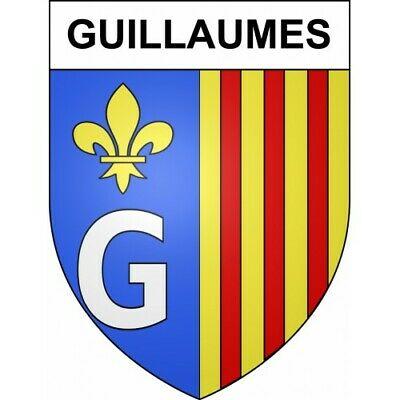 Guillaumes 06 ville sticker blason écusson autocollant adhésif