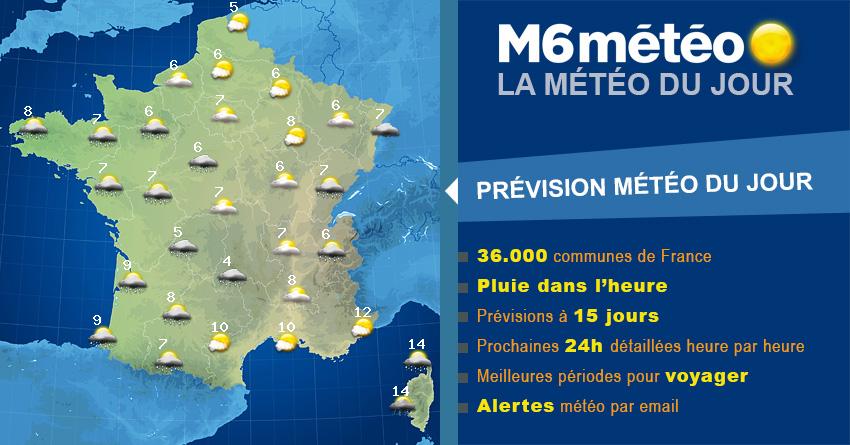 Météo Guillaumes demain – Prévisions heure par heure par M6 météo