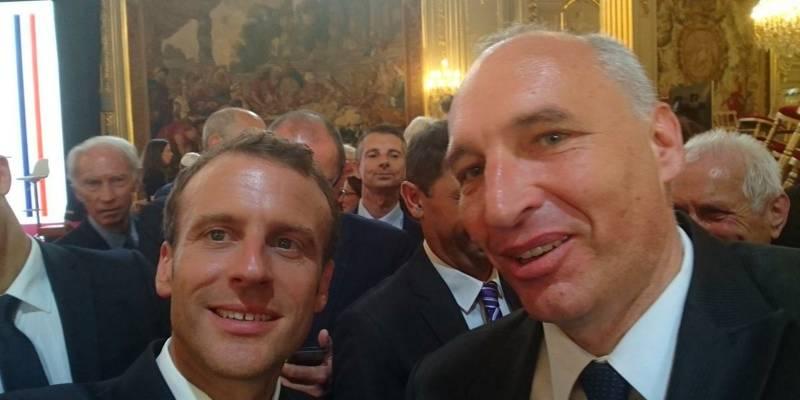 Jean-Paul David, nouveau président de l'Association des maires des Alpes-Maritimes