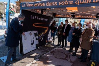 Tech – Lancement de la fibre Orange à Péone-Valberg ! – Petites Affiches des Alpes-Maritimes