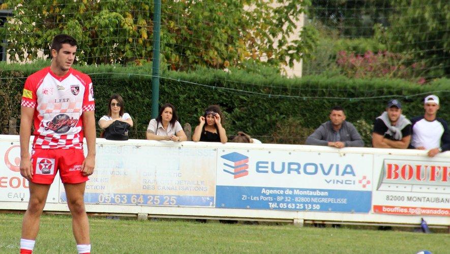Guillaumes Gardes, joueur du SC Nègrepelisse : «Mon objectif ? être un jour en équipe première»