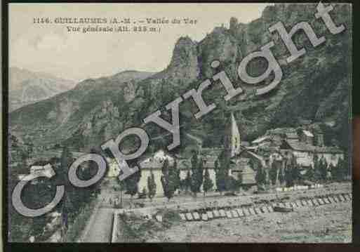 Image et Photo de Carte postale ancienne de la ville de GUILLAUMES PH009168-G sur Cartes et Patrimoine